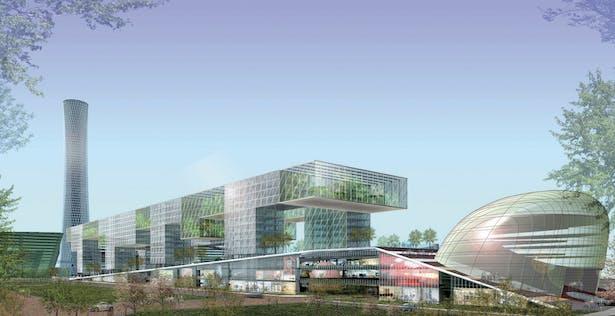 Elk Grove Auto Mall >> Songdo Master Plan | Laguarda.Low Architects, LLC | Archinect