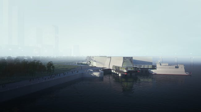 Rendering (Image: Preliminary Research Office)
