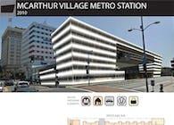 McArthur Village Metro Station