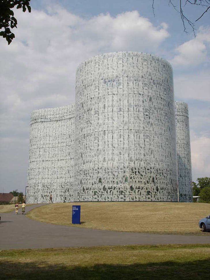 Herzog & de Meuron: Cottbus Technical University Library, Cottbus, Germany, 2005