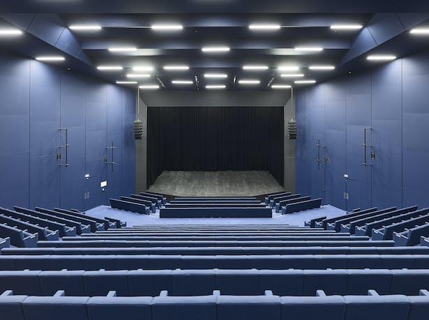 Palais de la Musique et des Congrès (PMC) Strasbourg – Auditorium Cassin (520 seats)