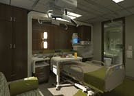 Paradise Valley Hospital Telemetry Unit Patient Room Mock-Up
