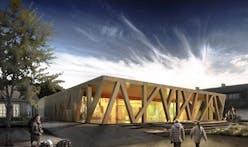 CEBRA Architects to Design Information Portal at Rebild, Denmark