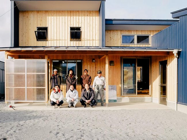 Kitakami 'We Are One' Market and Youth Center from Architecture For Humanity