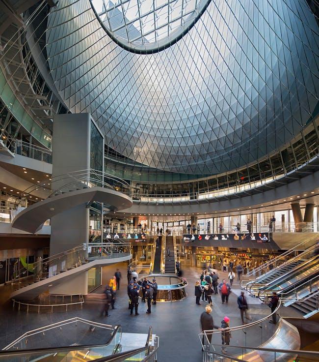 World Architecture Festival 2015 shortlist - Fulton Center by Grimshaw.