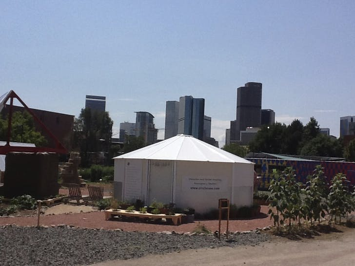 'Sustainability Park' in Denver. Photo credit: Nam Henderson.