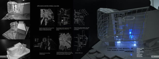 architecture analysis -UFA cinema center