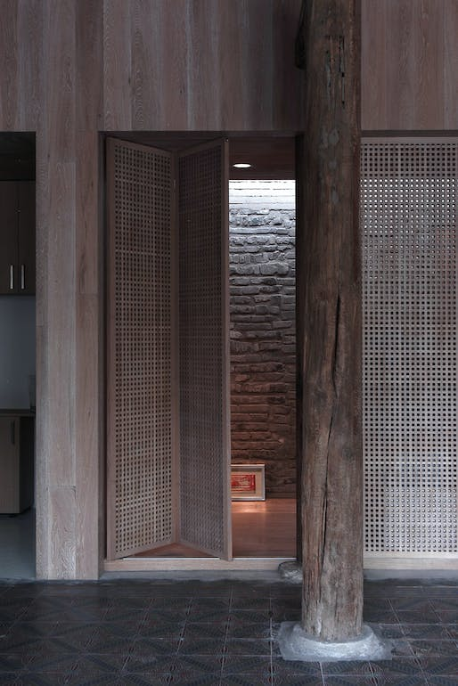 Caiguoqiang Courtyard House Renovation in Beijing, China by Studio Zhu-Pei