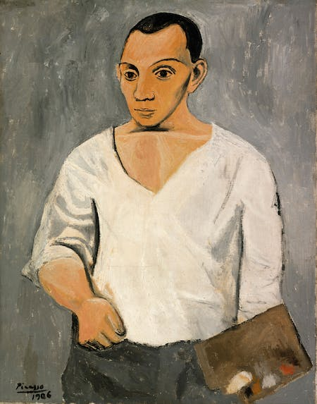 Self-Portrait, Pablo Picasso, 1906