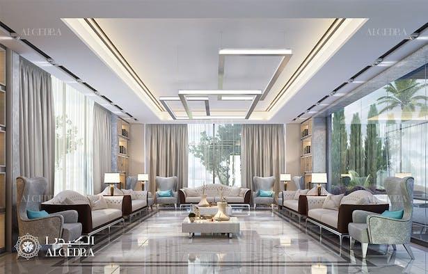 Contemporary Luxury Villa Interior Design In Dubai Algedra Design Archinect