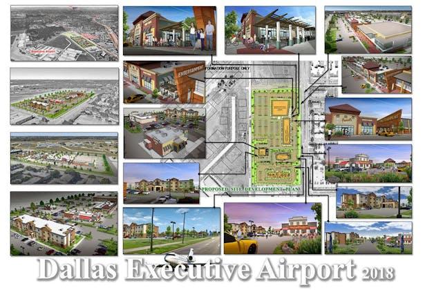 Dallas Executive Airport, 11 acres land leased development. Dallas, TX.