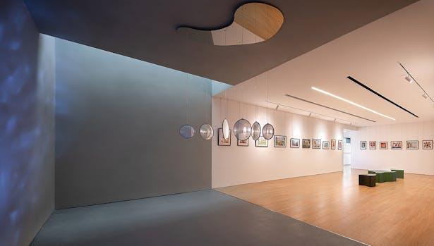 Interior Light Well,photo: Wu Qingshan