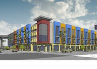 Mercado Project - Mixed used Urban infill Project - Schematics