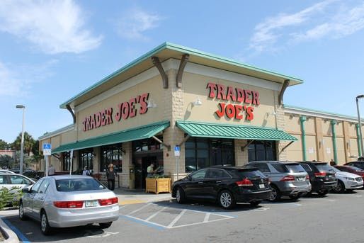 Angeleno shopping staple and parking hassle Trader Joe's. Photo: Phillip Pessar via flickr.