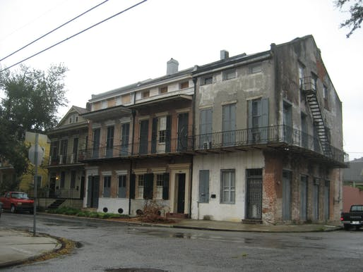 View of the Treme neighborhood in New Orleans, where the Preservation Resource Center is helping to fund preservation-friendly repairs to existing buildings.Image courtesy of Wikimedia user Infrogmation.