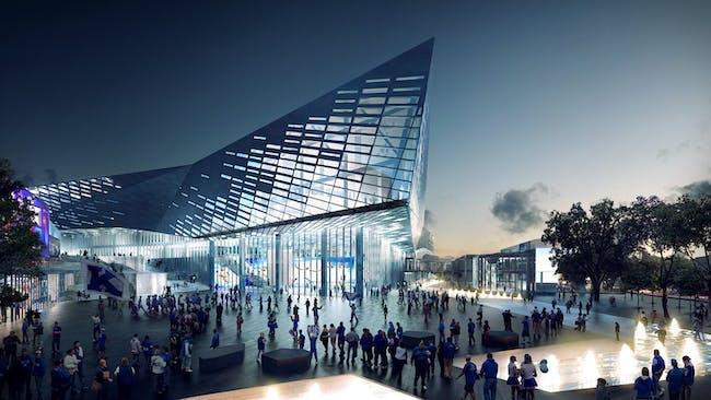 NEXT LA - HONOR: Lexington Center Reinvention and Expansion by NBBJ in Lexington, Kentucky. Photo courtesy of AIA|LA Design Awards 2014.