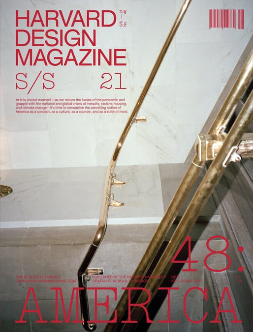Harvard Design Magazine 48: America Front Cover. Credit: Harvard Design Magazine
