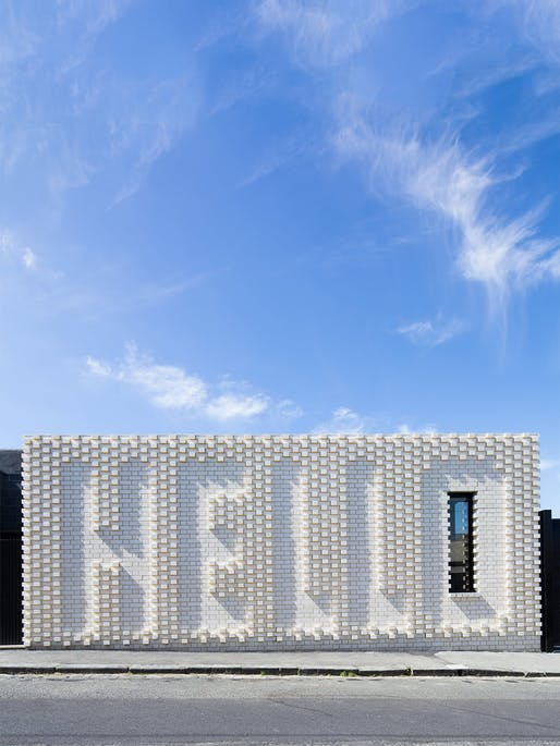 "<a href=""https://archinect.com/OFFArch/project/hello-house"">Hello House</a> in Melbourne, Australia by <a href=""https://archinect.com/OFFArch"">OOF! Architecture</a>; Photo: Nic Granleese (OOF! Architecture was also <a href=""https://archinect.com/features/article/150085016/melbourne-s-oof-architecture-isn-t-afraid-of-experimenting-in-historic-neighborhoods"">recently featured</a> in Archinect's popular <a..."
