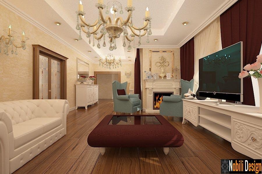 interior design of a classic living room in a luxurious house nobili interior design