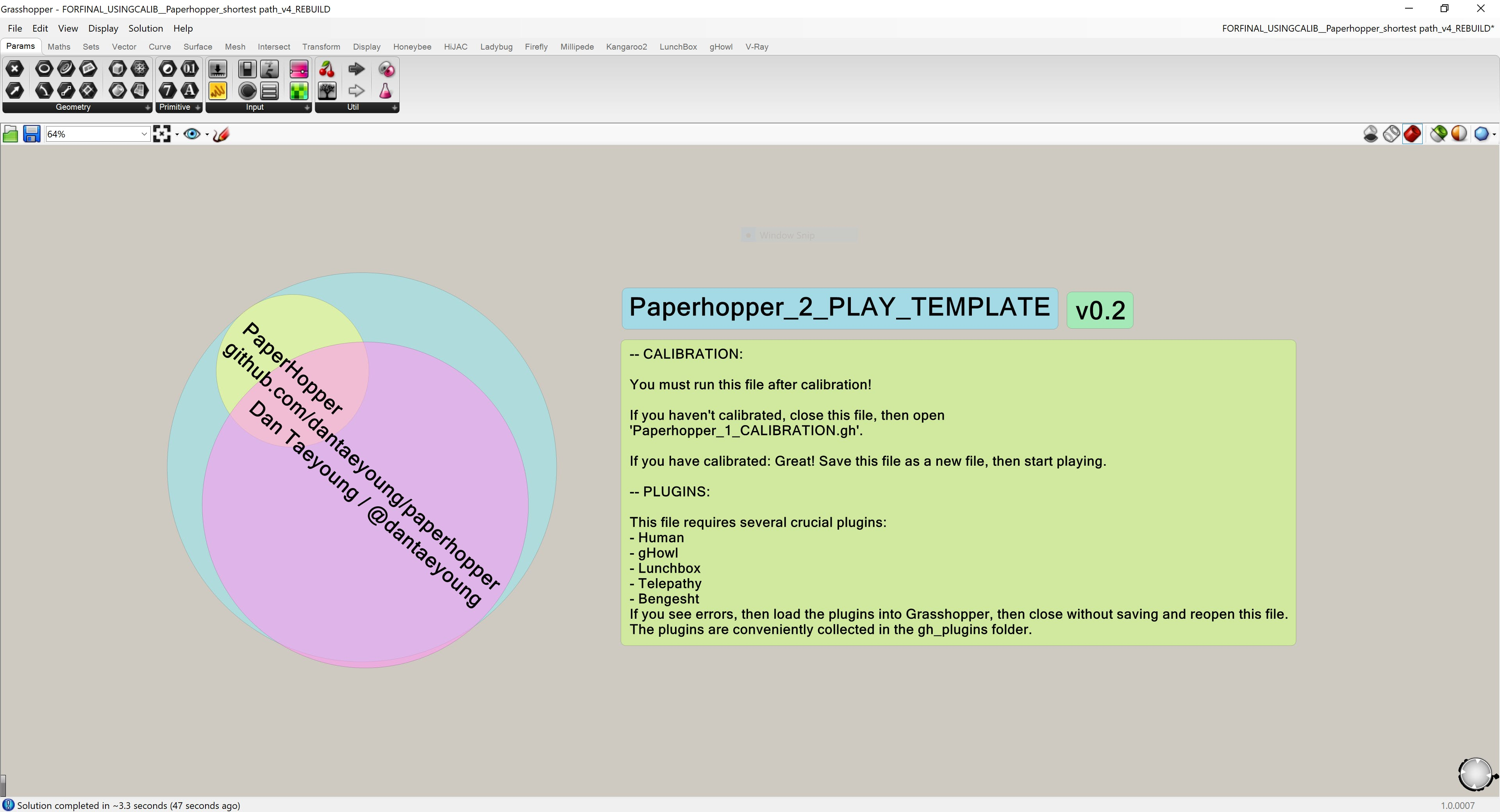 Meta Tool: Grasshopper as a Meta Tool/ A prototyping and