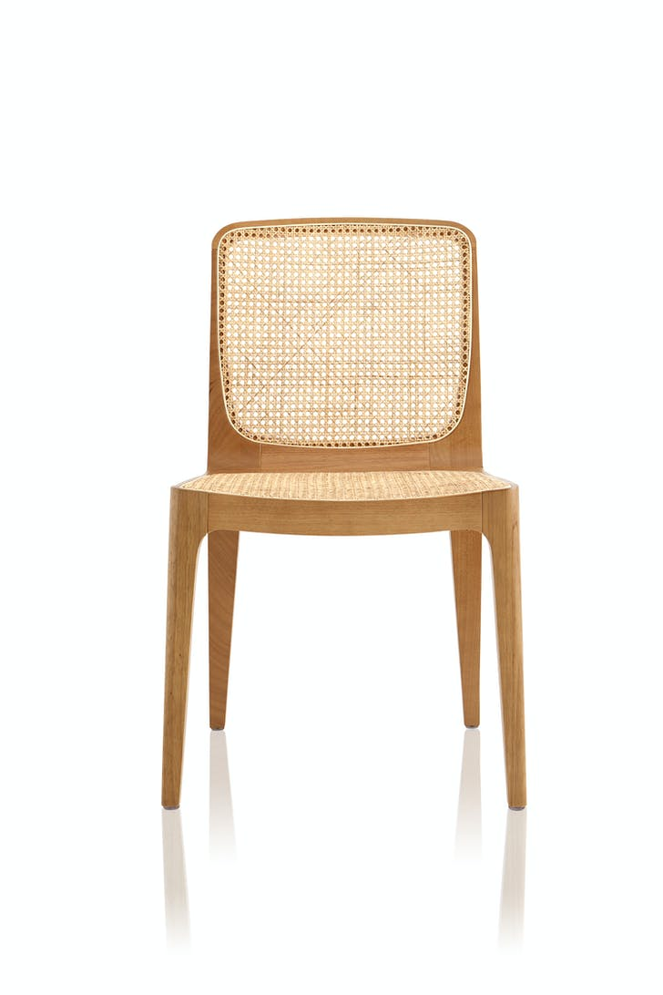 A chair by Almeida. Image courtesy the designer.