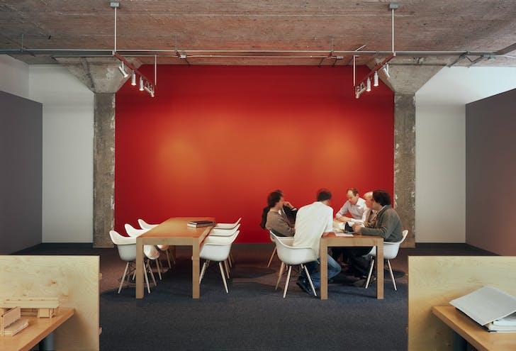 Bohlin Cywinski Jackson's San Francisco office. Photo courtesy of the firm.