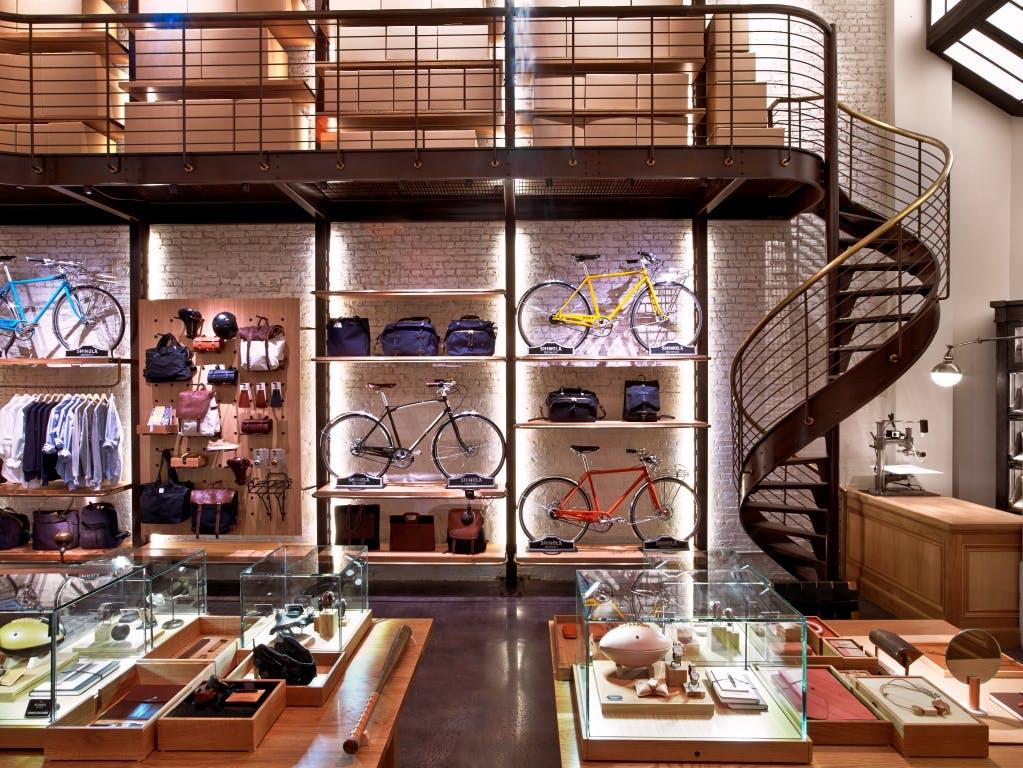 Shinola Flagship Store Tribeca Jordan Lu Archinect