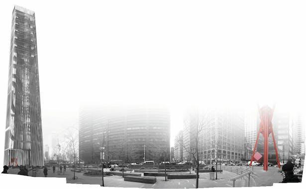 Tower Montage_Zuccotti Park