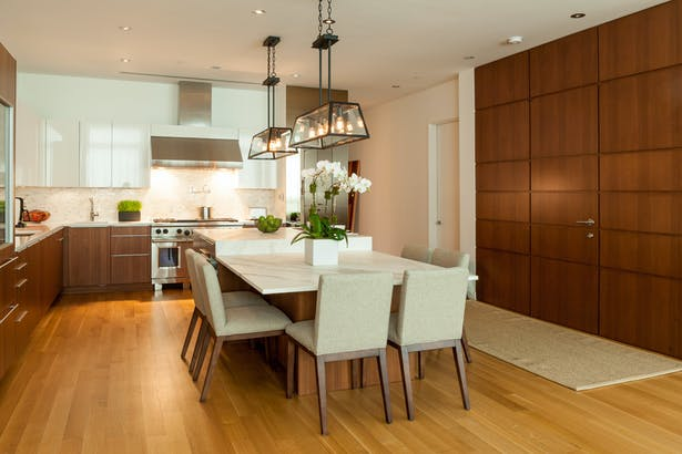 Kitchen - Entry/Custom Entry Enclosure