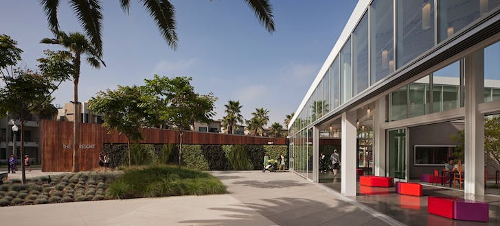 The Resort at Playa Vista, Playa Vista, CA. Photo: Tom Bonner.