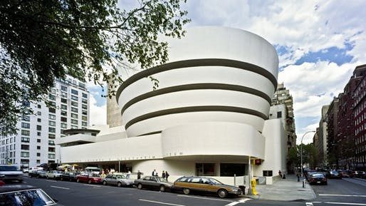The Solomon R. Guggenheim Museum (constructed 1956-1959, New York, New York)