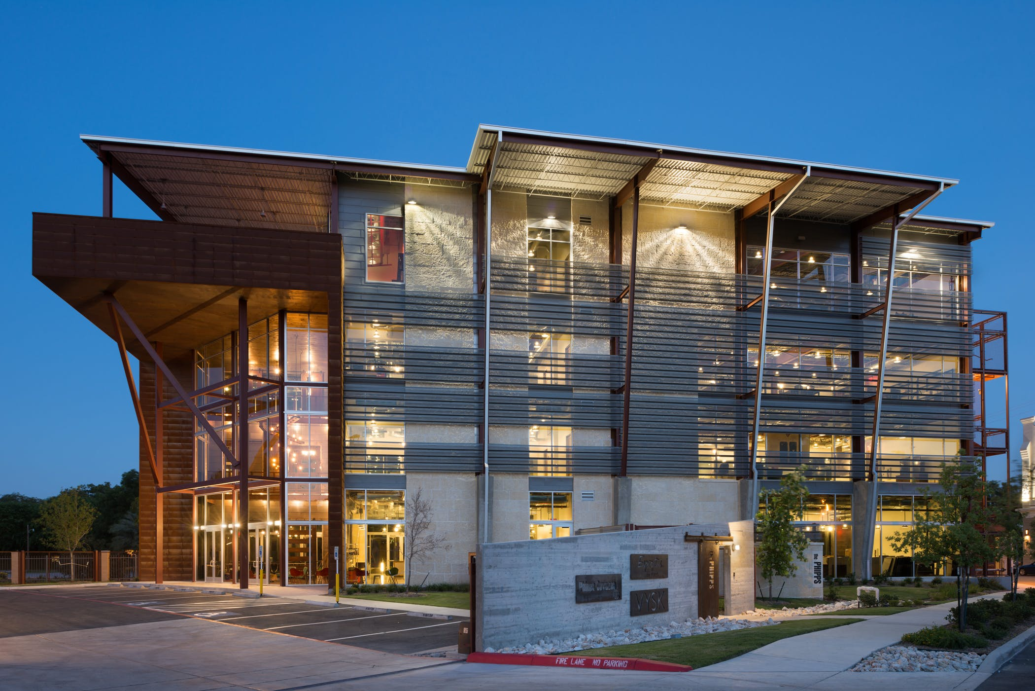 The Phipps Office on the San Antonio Riverwalk | Durand-Hollis ...