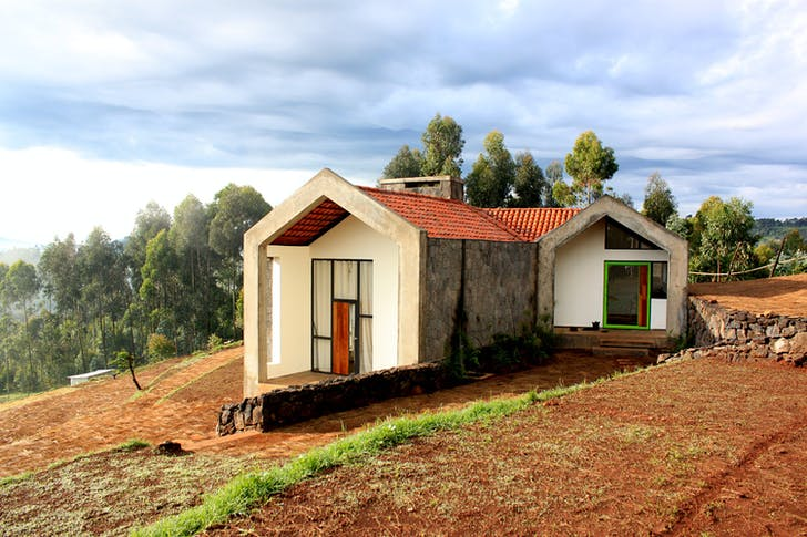 Butaro Doctors' Housing. Photo courtesy of MASS Design Group.