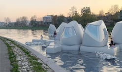 Would you work in a floating, remote workspace?