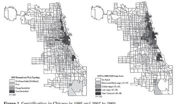 Gentrification and the Persistence of Poor Minority Neighborhoods