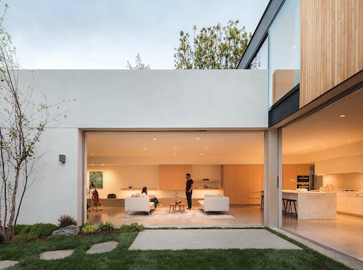 19th Street Residence in Santa Monica, CA by Ehrlich Yanai Rhee Chaney Architects. Photo: Darren Bradley.