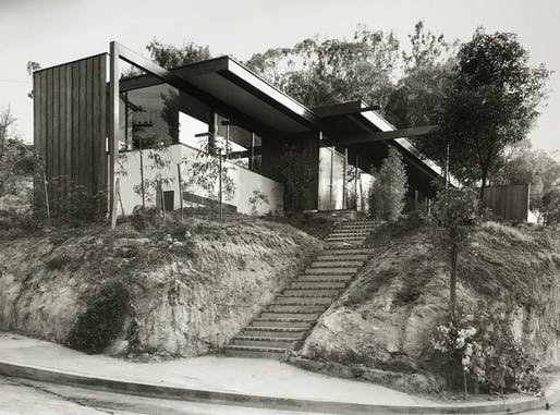 The Neutra Reunion House is now a Historic-Cultural Monument in Los Angeles. Photo: The Neutra Institute for Survival Through Design