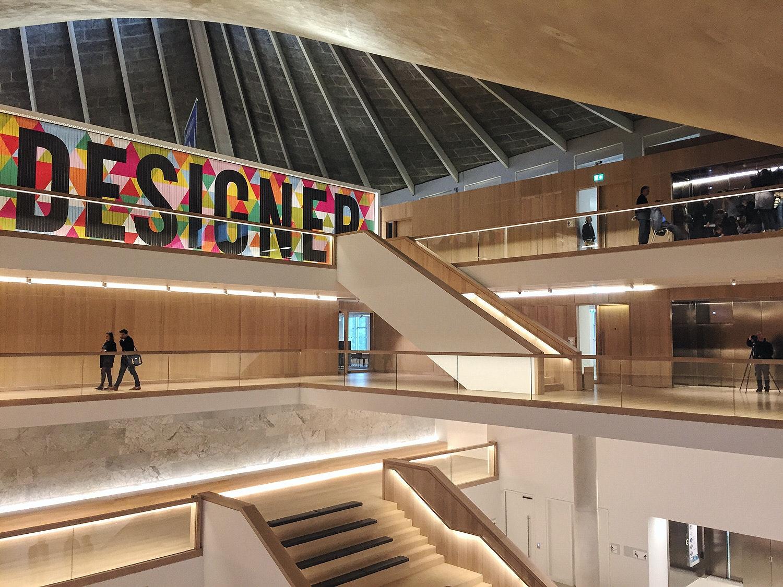 The New Design Museum London. Image: Ellen Hancock