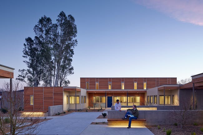 Sweetwater Spectrum Community (Sonoma, CA) by Leddy Maytum Stacy Architects. Photo © Tim Griffith