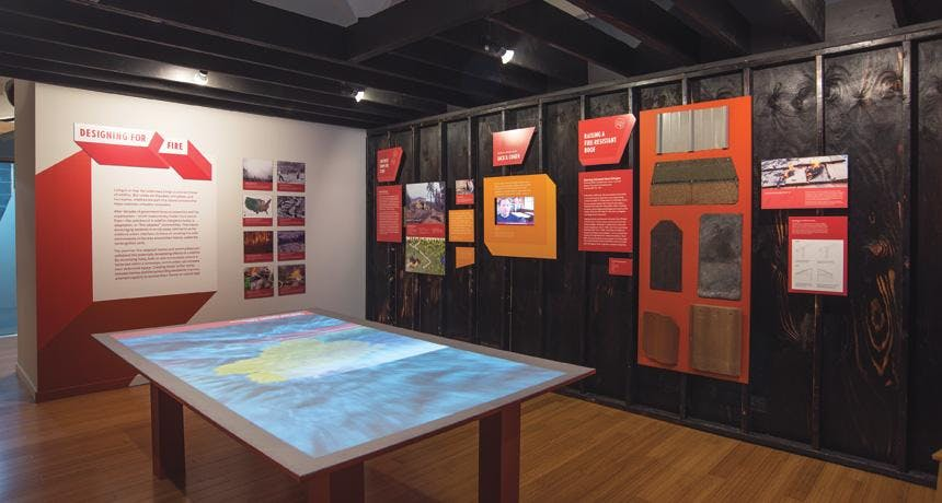 The Exhibit Designing For Disaster Is Currently National Building Museum In Washington