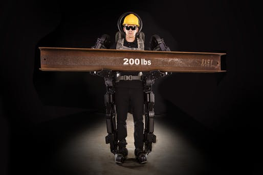 Coming soon to a construction site near you: commercially available exoskeleton suits for construction workers. Image: Sarcos