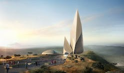 First glimpse of Daniel Libeskind's design for Ngaren: Museum of Humankind in Kenya