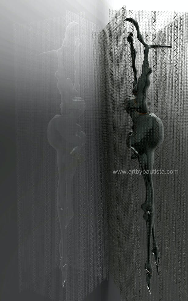 The Wall Climber by J. F. Bautista