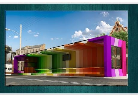 Bus station Architect: Yousef Nemati Shahr Nama Company