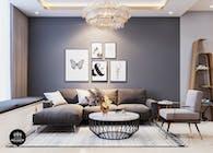 Thiết kế nội thất căn hộ La casa của chị Hương Quận 7