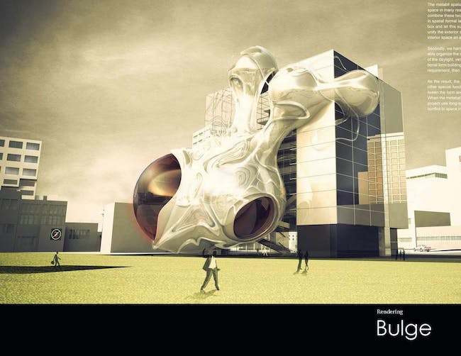 Bulge (Comteporary Hotel and Theatre Design) by Danny Ye Li & Haoyang Yu