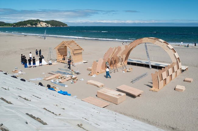 Shichigahama Beach House - all the little pieces via Will Gallloway