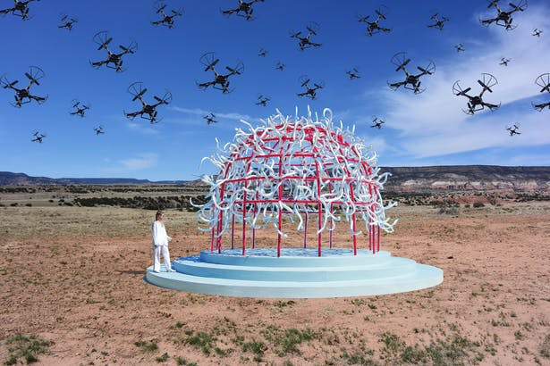 The Drone Pavilion