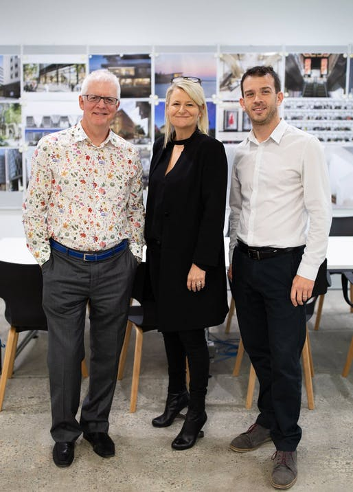 Ken Shuttleworth with Tracey Wiles and Simon Lincoln