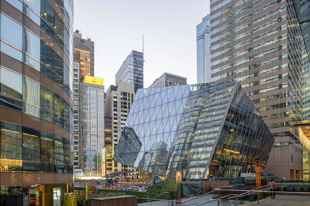 The Forum at Exchange Square, Hong Kong, by Aedas